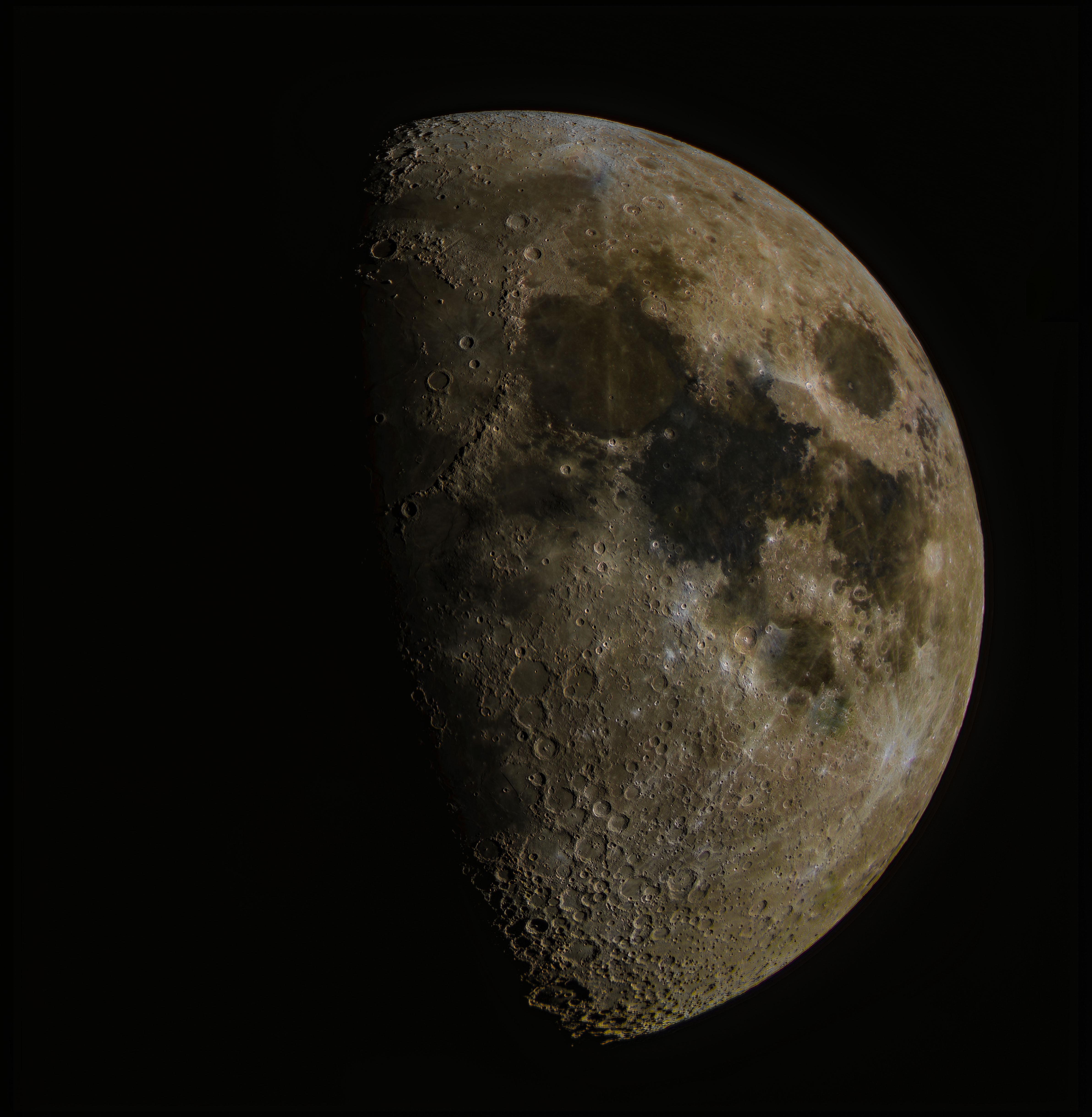 Mond vom 25.03.2018