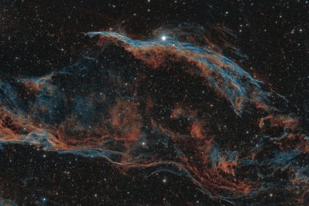 NGC 6960 the Western Veil Nebula