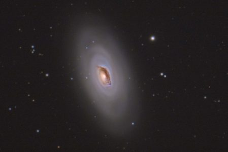 M64 – the Blackeye Galaxy
