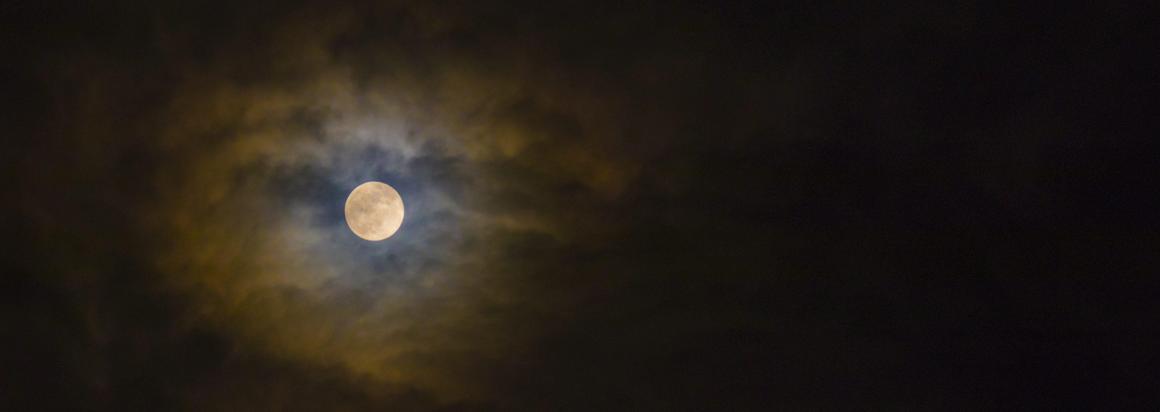 Mond vom 01.03.2018