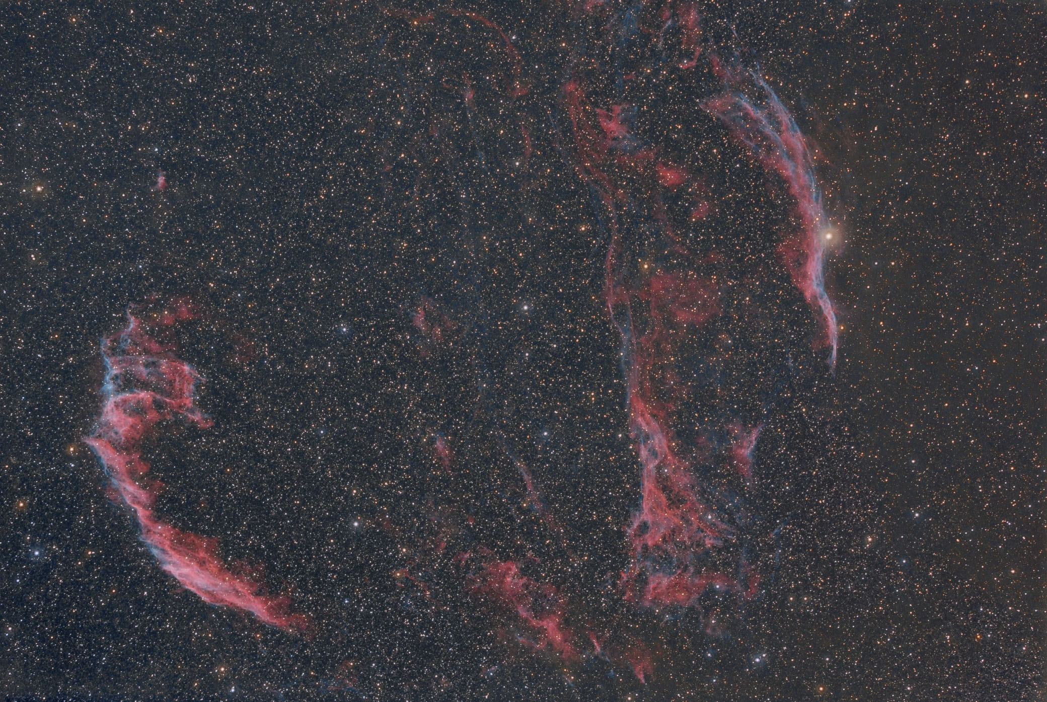 der Cirruskomplex in RGB